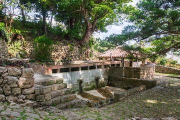 沖縄 琉球文化 重要文化財 南城市仲村渠樋川