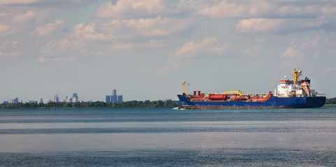 Detroit River Shipping