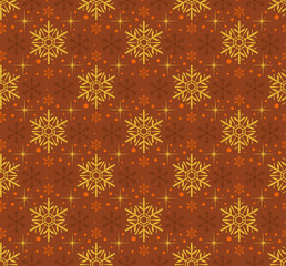 Snowflake Abstract Background