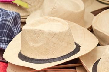 chapeau de paille, artisanat malgache