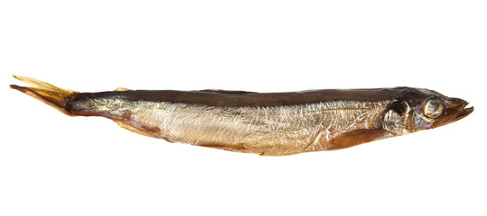 smoked capelin