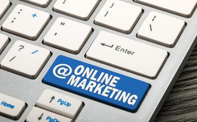 online marketing button
