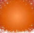 Schneehintergrund orange