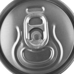 metallic jar of beer