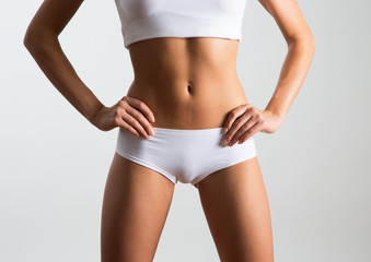 Beautiful slim body