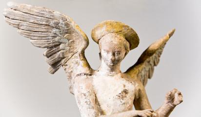 Terracotta Eros Statue