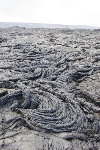 Foto op Canvas Vulkaan Lava rock formation in Hawaii.