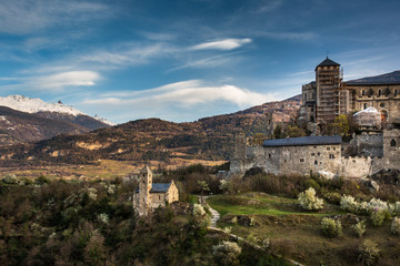 Sion, Switzerland - Valere castle