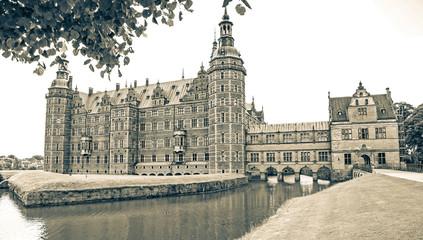 Frederiksborg palace in Denmark