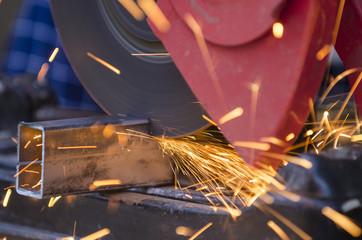 Tool cutting metal