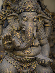 statue of ganesha in bali, indonesia