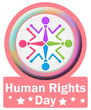Human Rights Day Circle Square