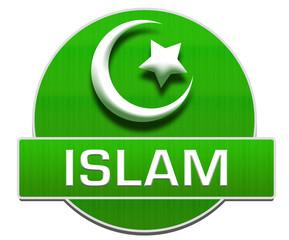 Islam Green Circle