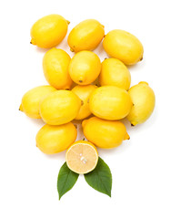 Fresh lemon bunch