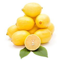 Fresh lemon bunch