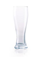 glass of beer empty