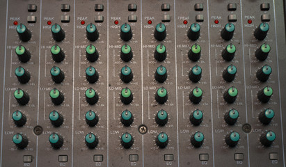 fader mixer