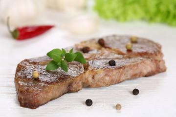 Gebratenes Schweinefleisch Kotelett Steak