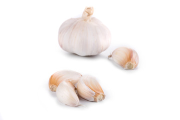 Head of garlic.