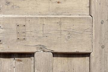 Background texture - old wooden door