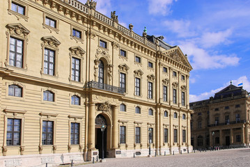Flügel der Würzburger Residenz