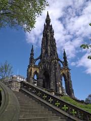 The Scott Monument, Princes Street, Edinburgh, Scotland.