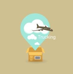 cargo plane icon