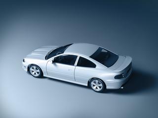 gray 3d car