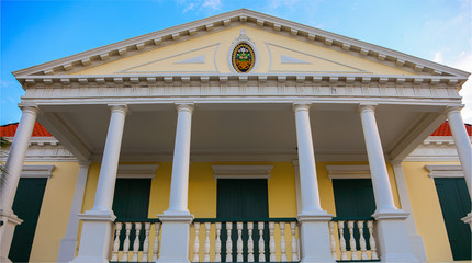 House in Willemstad on Curacao
