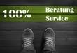 100 % Beratung und Service