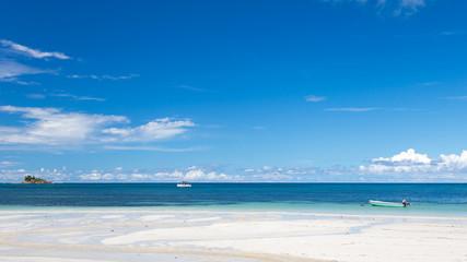 panorama of the Indian Ocean