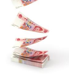 Renminbi falling down