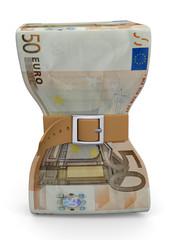 Economic Crisis Concept - 3D