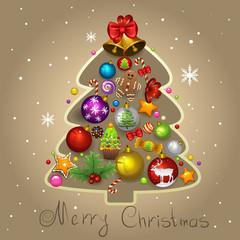 Fir-tree Christmas