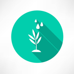 stem with water icon