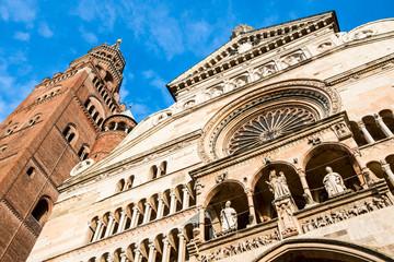 Duomo of Cremona - facade