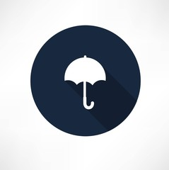 Umbrella - Vector icon