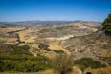 Landscape, Moclin, Granada, Andalusia, Spain