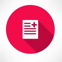 medical report, document