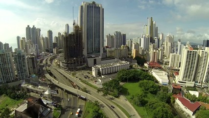 Stunning view of Panama City in the daytime