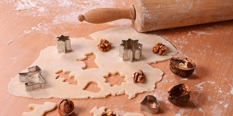 kekse für weihnachten backen