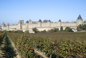 Historic Fortified city of Carcassonne, France