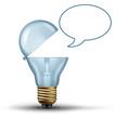 Idea communication Concept