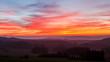 canvas print picture - Herbstliche Abendstimmung