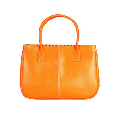 Orange female bag
