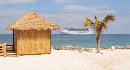 Tropical Beach Resort Vacation Paradise