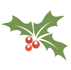 Holly berry symbol