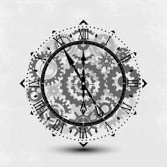Old watch - with gears