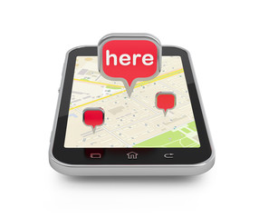 Mobile navigation or travel planning.