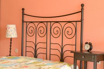 Furnishings in the bedroom